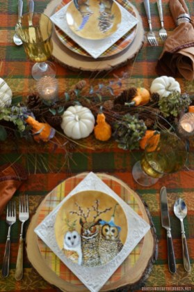 Amazing Thanksgiving Tablescapes Ideas For More Taste And Enjoyful16