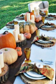 Amazing Thanksgiving Tablescapes Ideas For More Taste And Enjoyful22