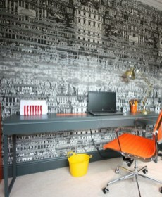Attractive Study Room Designs And Decorative Ideas For Your Sons Little Surprise12