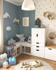 Awesome Kids Bedroom Wall Decorations Ideas That Will Make Fun Your Kids Room20