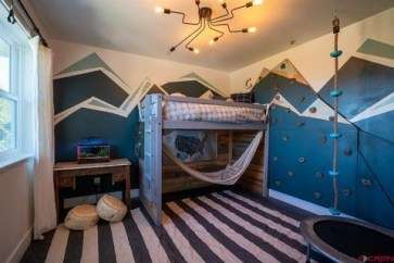 Awesome Kids Bedroom Wall Decorations Ideas That Will Make Fun Your Kids Room21