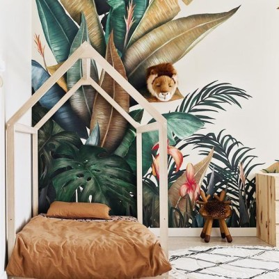 Awesome Kids Bedroom Wall Decorations Ideas That Will Make Fun Your Kids Room29