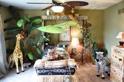 Awesome Kids Bedroom Wall Decorations Ideas That Will Make Fun Your Kids Room33