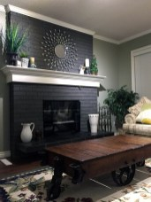 Awesome Winter Home Decoration Design Ideas With Unique Fireplace20