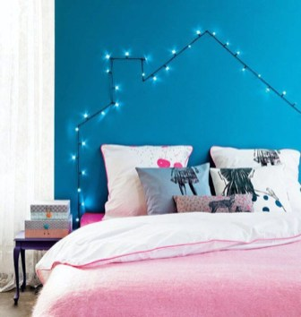 Best String Lights Ideas For Bedroom To Try Asap09