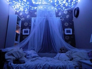 Best String Lights Ideas For Bedroom To Try Asap12
