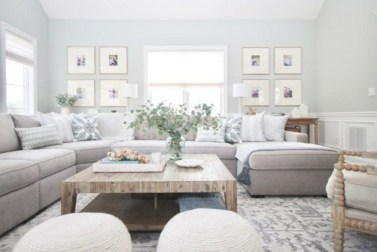 Impressive Family Room Designs Ideas That Looks So Cute12