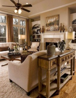 Impressive Family Room Designs Ideas That Looks So Cute19