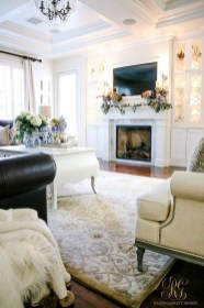 Impressive Family Room Designs Ideas That Looks So Cute32