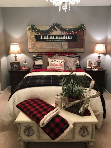 Latest Christmas Bedroom Decor Ideas For Kids To Try22