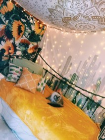 Latest Diy Sunflower Bedroom Decoration Ideas To Try Asap17