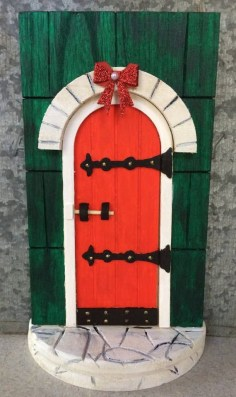 Newest Christmas Door Decoration Ideas You Must Try Right Now16