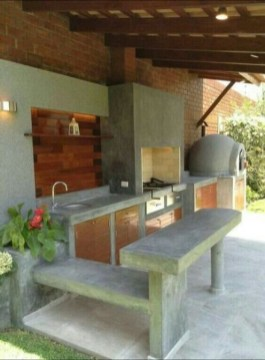 Newest Diy Outdoor Kitchen Designs Ideas On A Budget21