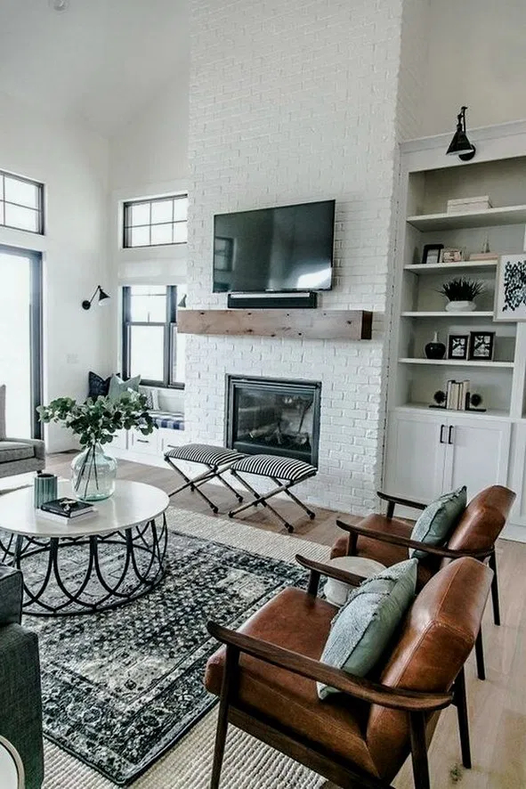 Pretty Living Room Remodel Ideas To Try Asap14