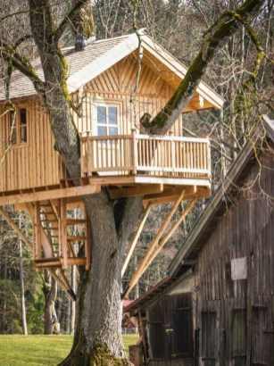 Rustic Diy Tree Houses Design Ideas For Your Kids And Family07