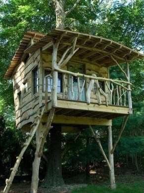 Rustic Diy Tree Houses Design Ideas For Your Kids And Family26