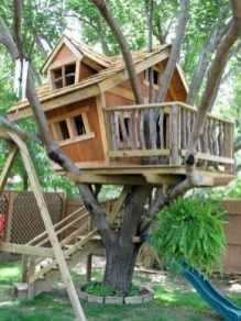 Rustic Diy Tree Houses Design Ideas For Your Kids And Family28