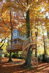 Rustic Diy Tree Houses Design Ideas For Your Kids And Family30