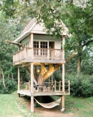 Rustic Diy Tree Houses Design Ideas For Your Kids And Family34