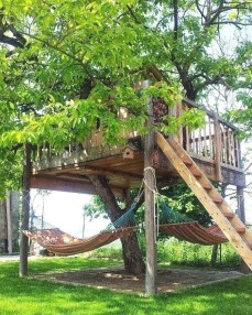 Rustic Diy Tree Houses Design Ideas For Your Kids And Family37