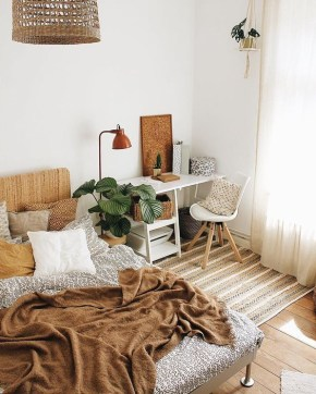 Stylish Bohemian Style Bedroom Decor Design Ideas To Try Asap17