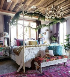 Stylish Bohemian Style Bedroom Decor Design Ideas To Try Asap19