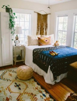 Stylish Bohemian Style Bedroom Decor Design Ideas To Try Asap34