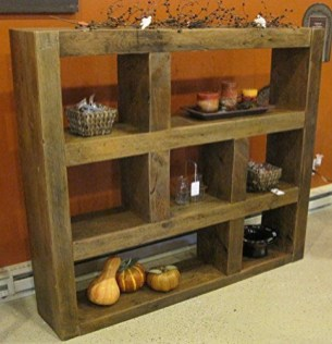Unusual Diy Reclaimed Wood Shelf Design Ideas For Brilliant Projects12