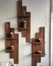 Unusual Diy Reclaimed Wood Shelf Design Ideas For Brilliant Projects19