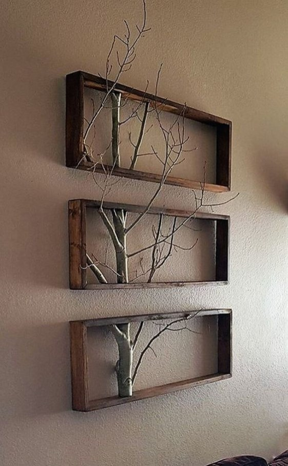 Unusual Diy Reclaimed Wood Shelf Design Ideas For Brilliant Projects24