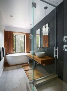 Astonishing Japanese Contemporary Bathroom Ideas That You Need To Try13