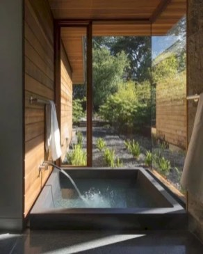 Astonishing Japanese Contemporary Bathroom Ideas That You Need To Try21
