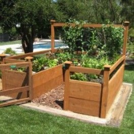 Best Raised Garden Bed For Backyard Landscaping Ideas To Try Asap20