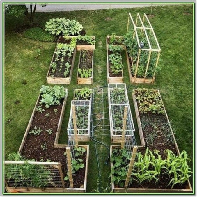 Best Raised Garden Bed For Backyard Landscaping Ideas To Try Asap34