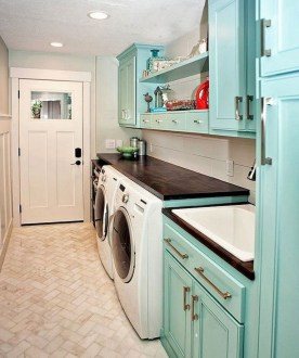 Cozy Laundry Room Tile Pattern Design Ideas To Try Asap10