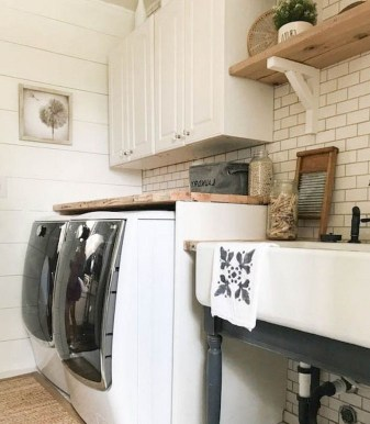 Cozy Laundry Room Tile Pattern Design Ideas To Try Asap17