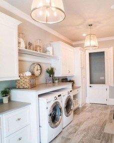 Cozy Laundry Room Tile Pattern Design Ideas To Try Asap26