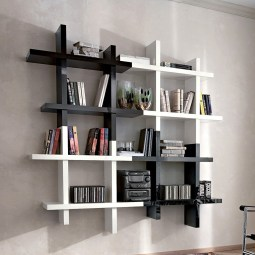 Extraordinary Bookshelf Design Ideas To Decorate Your Home More Beautiful09