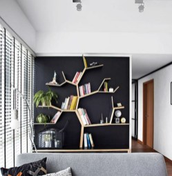 Extraordinary Bookshelf Design Ideas To Decorate Your Home More Beautiful11