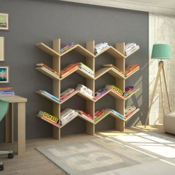 Extraordinary Bookshelf Design Ideas To Decorate Your Home More Beautiful18