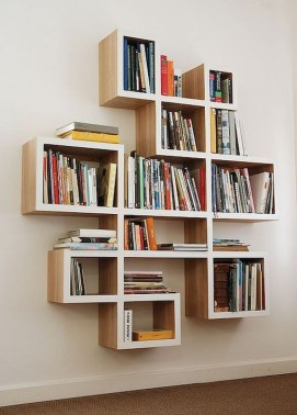 Extraordinary Bookshelf Design Ideas To Decorate Your Home More Beautiful24