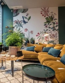 Gorgeous Gold Color Interior Design Ideas For Your Home Style To Copy15