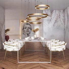 Gorgeous Gold Color Interior Design Ideas For Your Home Style To Copy16