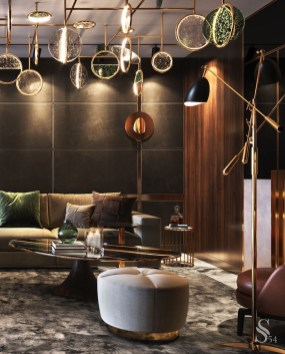 Gorgeous Gold Color Interior Design Ideas For Your Home Style To Copy22