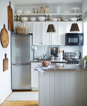 Magnificient Kitchen Design Ideas For A Small Space To Try25
