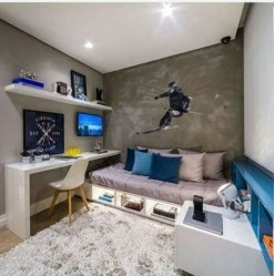 Outstanding Bedroom Design Ideas For Teenager To Have Soon13