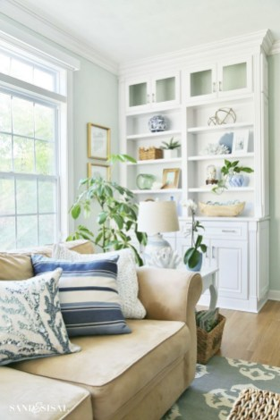Pretty Coastal Living Room Decor Ideas That Looks Awesome33