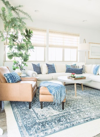 Pretty Coastal Living Room Decor Ideas That Looks Awesome34