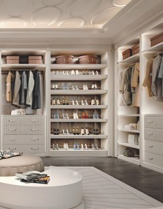 Pretty Wardrobe Design Ideas That Can Try In Your Home20