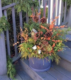Sophisticated Container Garden Flower Ideas For This Winter To Try28